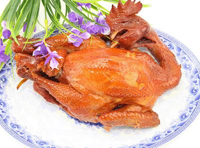 沟帮子鲜熏鸡