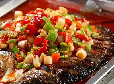 辣尚瘾蒜香烤鱼
