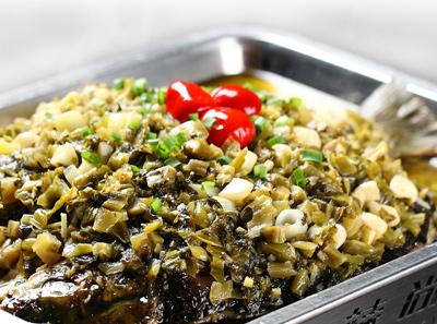 辣尚瘾酸菜烤鱼