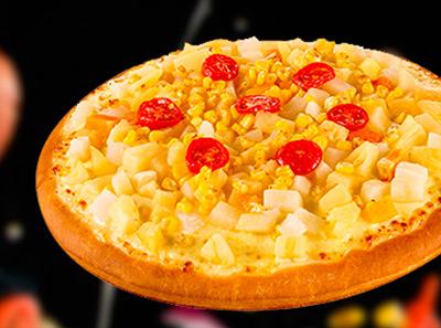 美闻比萨水果比萨