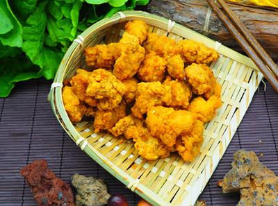 石炙米烧黄金地瓜条