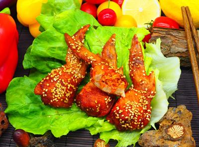 石炙米烧手羽饺子