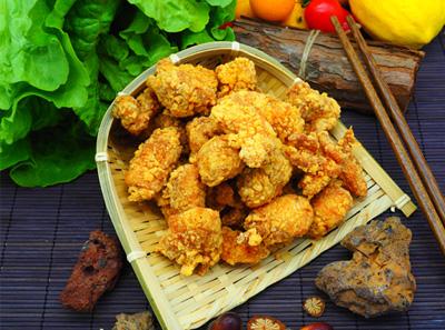 石炙米烧盐酥鸡