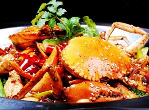 香锅年代香锅螃蟹