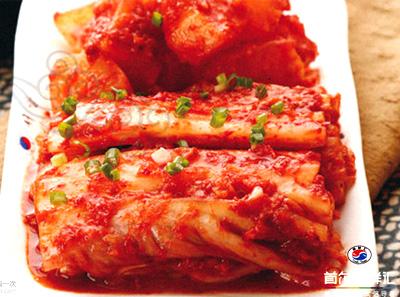 首尔焖鲜汇-辣白菜拼盘