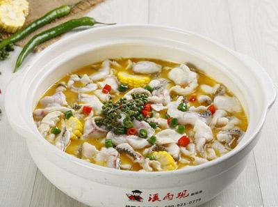 溪雨观酸菜鱼加盟菜品