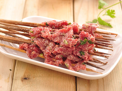 玉林串串香极品香菜牛肉