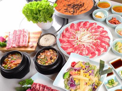 韩时烤肉火锅