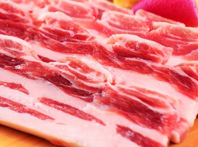 韩时烤肉鲜五花肉