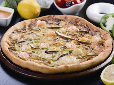 乌巢比萨烤虾