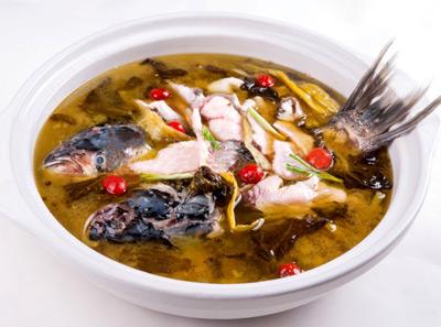 小渔棠砂锅鱼酸菜锅底