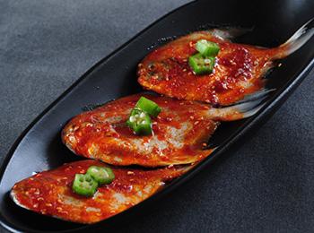 野人岛烤肉鲳鱼