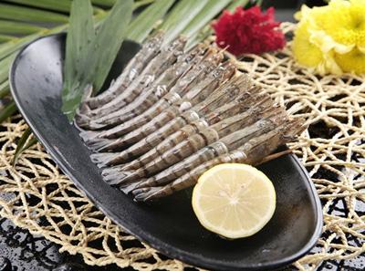 韩林炭烤烤原味大虾