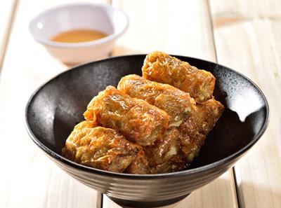 潮汕小馆炸五香粿肉