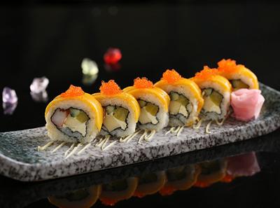 大渔芒果扇贝王寿司