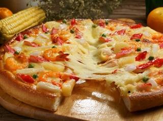 千尊海鲜比萨