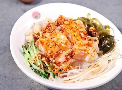 安少爷米线加盟菜品