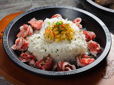 来趣黑椒厨房黑椒牛肉饭