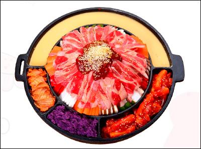 掌上韩品韩式烤牛肉铁锅