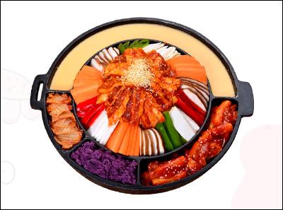 掌上韩品韩式五花肉铁锅