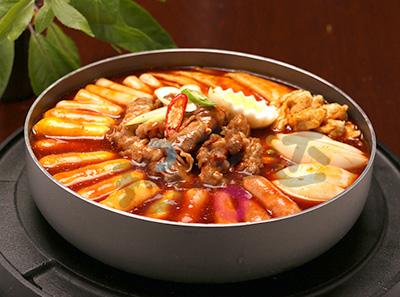 玛喜达韩式年糕火锅