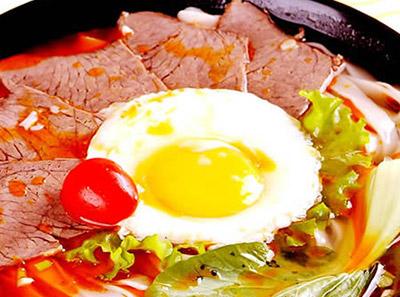 万里金汤牛肉拉面加盟菜品