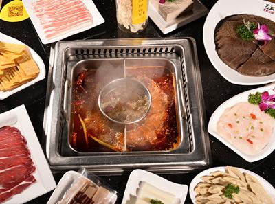 巴奴毛肚菌汤+番茄+牛油无渣
