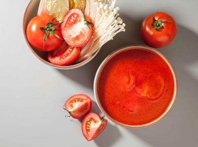 吉阿婆麻辣烫番茄牛尾