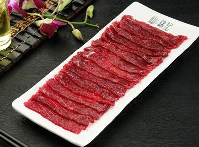 汕锦记生鲜牛肉馆匙仁