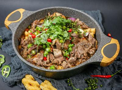 海银海记牛肉火锅加盟菜品