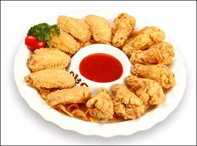 chicken  couple炸鸡情侣原味鸡翅