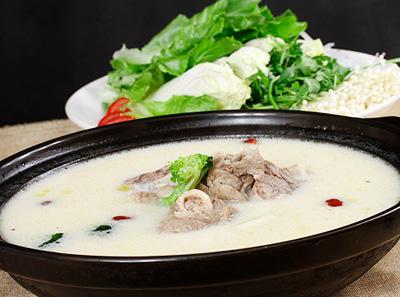 小牧谣羊汤馆加盟菜品