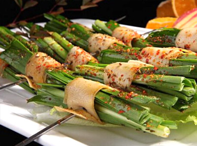 九味香串串加盟菜品