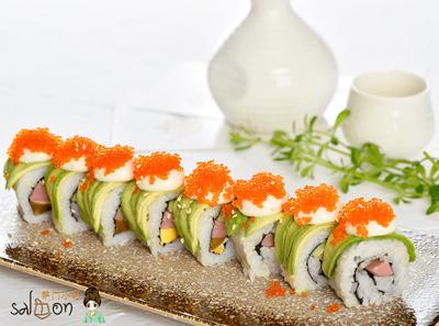 萨门小町寿司加盟菜品