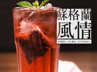轻刻黑龙茶加盟饮品