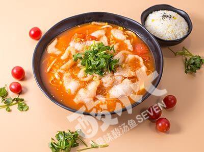 酸小七果味酸菜鱼菜品