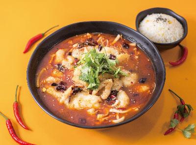 酸小七果味酸菜鱼加盟菜品