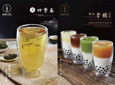 小摘堂茶加盟产品