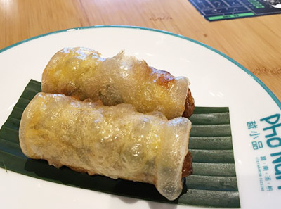 越小品越南汤粉加盟菜品