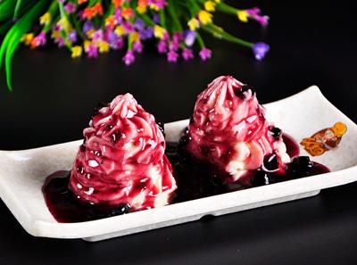 韩客莱-蓝莓山药