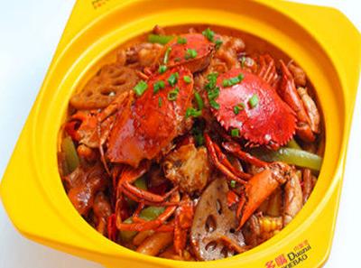 多嘴肉蟹煲加盟蟹煲