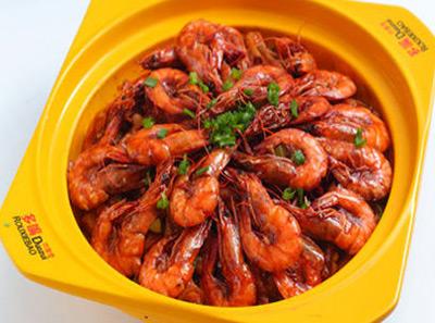 多嘴肉蟹煲加盟虾煲
