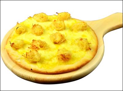 爱8寸金丝榴莲披萨