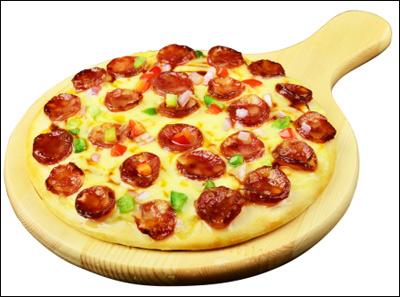 爱8寸麻香辣肠披萨