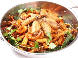 0048香辣虾美味鸡翅虾
