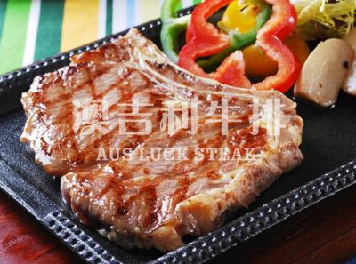 澳吉利牛排加盟菜品