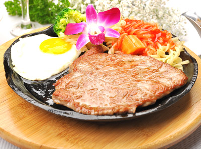 戈尔曼牛排加盟菜品