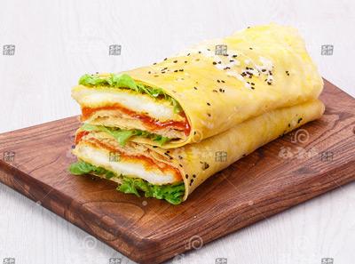 谷子帝五谷煎饼加盟菜品