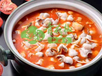青花椒砂锅鱼浓郁番茄味