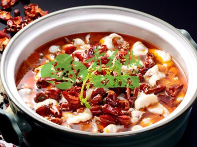 青花椒砂锅鱼香辣味